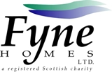 Fyne Homes Logo Registered Charity