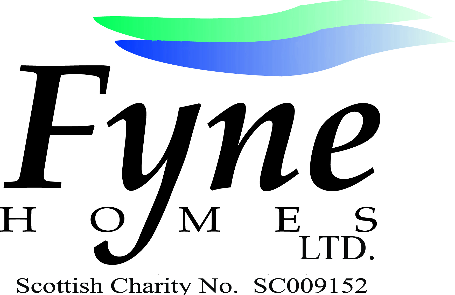 Fyne Homes Logo Charity No
